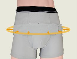 ペルファイン:腰を支える最適位置